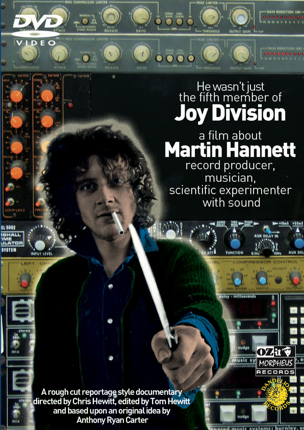 He wasn't just the 5th member of Joy Division - a film about Martin Hannett, record producer, musician, scientific experimenter with sound